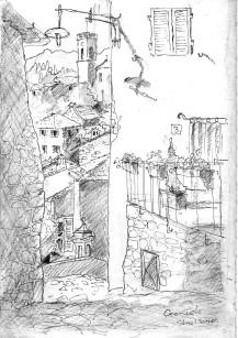 Graniola Street scape