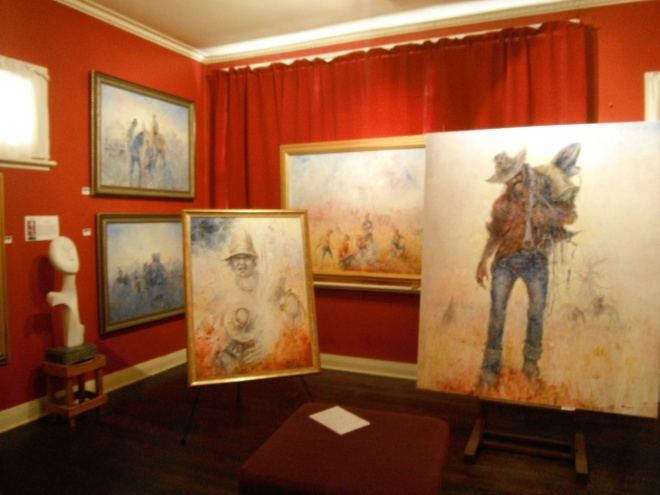 Gallery Red Room