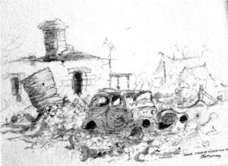 Cadelga Out station Ruins